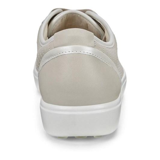 Ecco Soft 7 W Gravel/White/Gravel Casual Shoe