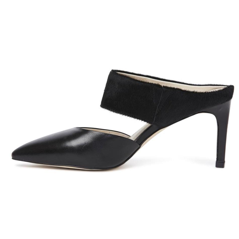 Kathryn Wilson Holly Heel - black calf hairc