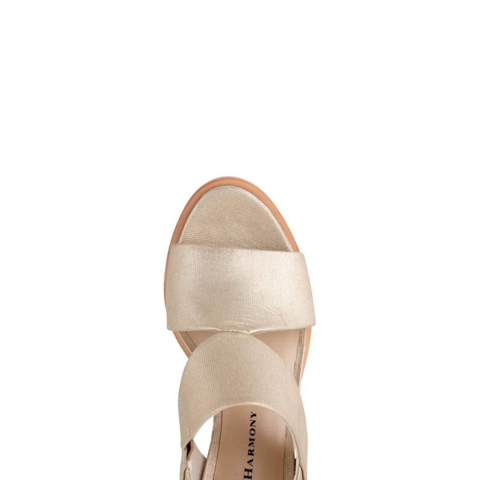 Chaos & Harmony Passion Heel - gold lines