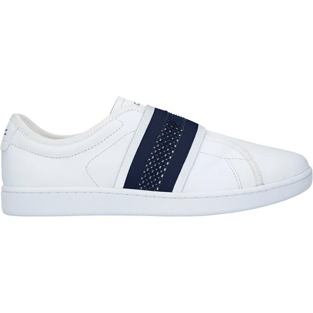 dd76740571ba Sneakers - Lacoste Carnaby Evo Slip 119 1 Sfa Wht Nvy - Ballantynes ...
