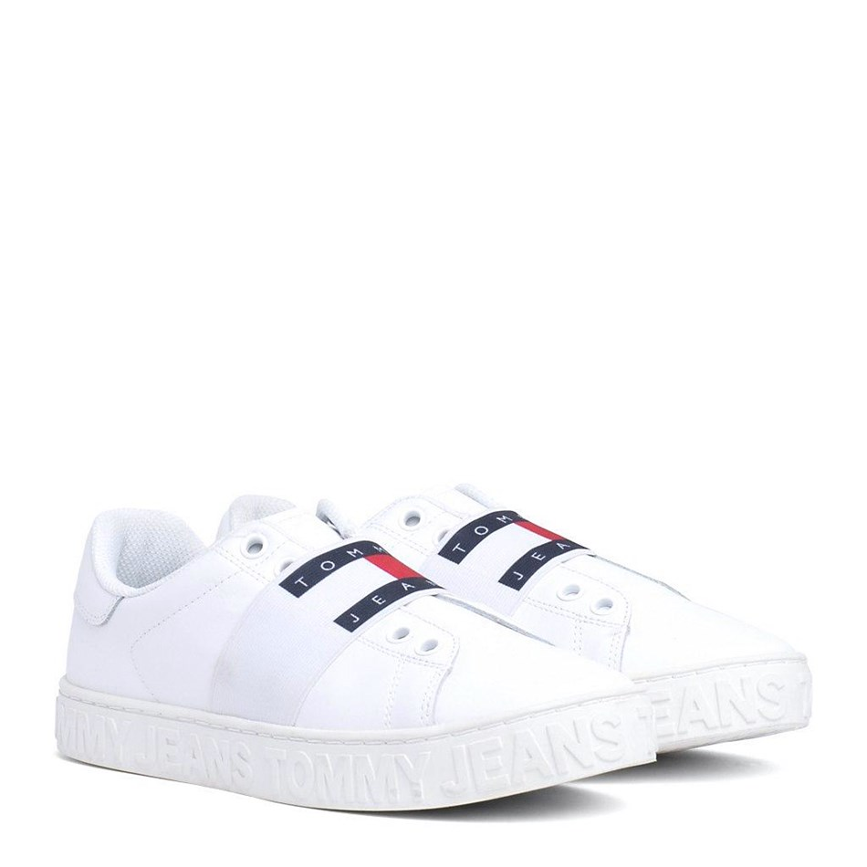 Tommy Jeans Slip On Cool Tommy Jeans Sneaker - white