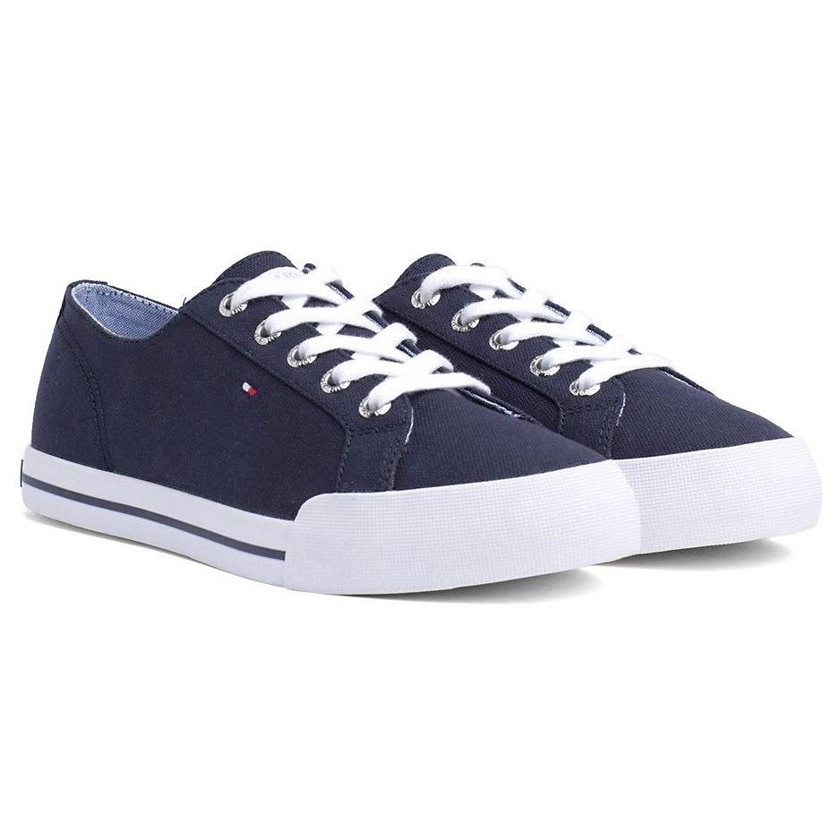 Tommy Jeans Essential Sneaker - tommy navy