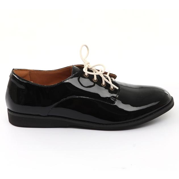 Rollie Derby Shoe - all black