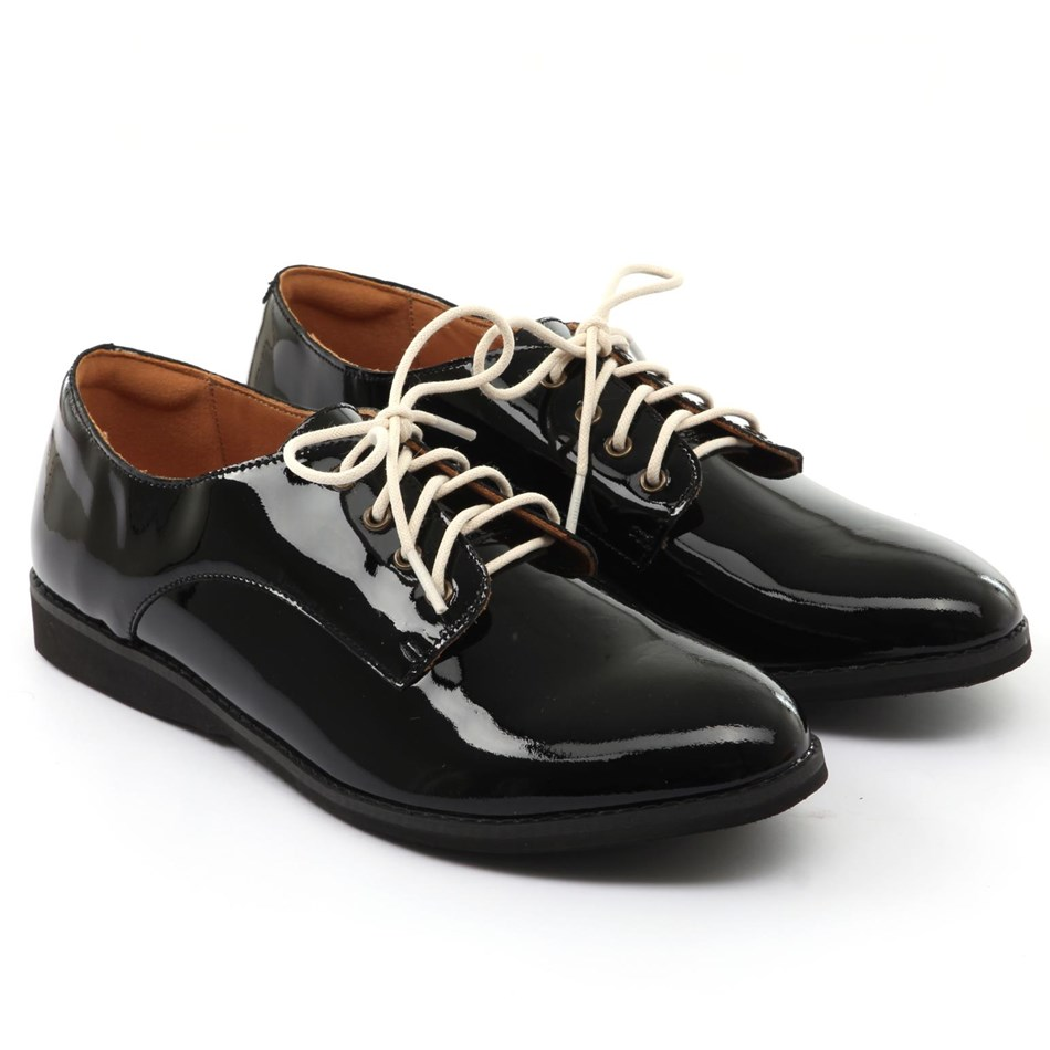 Rollie Derby Shoe - all black