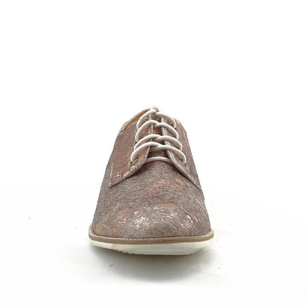 Rollie Derby Shoe - sage rose gold splat