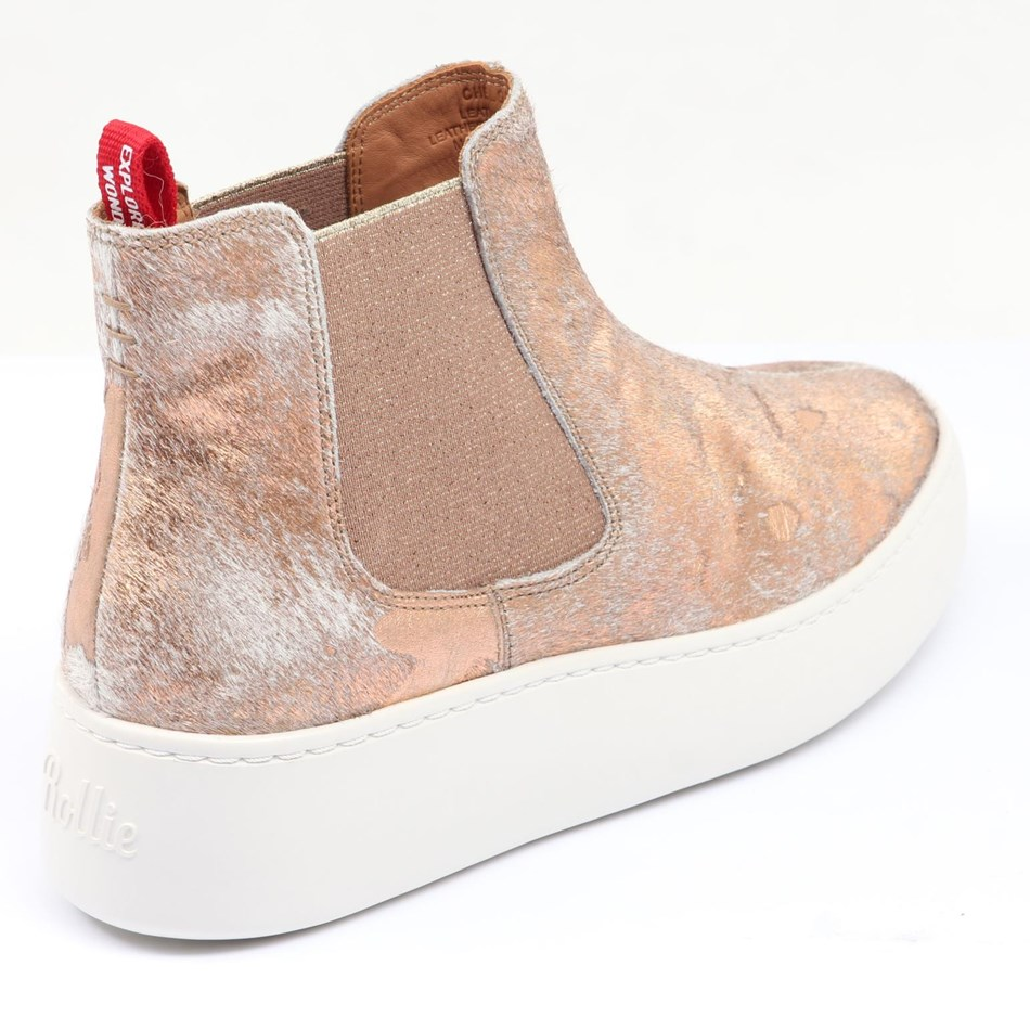 Rollie Chelsea City Shoe - sage rose gold splat