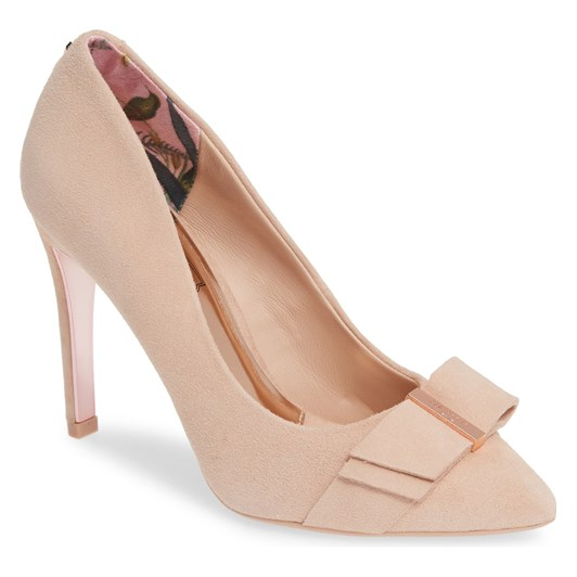 Ted Baker ANIKAI Suede Court Shoe