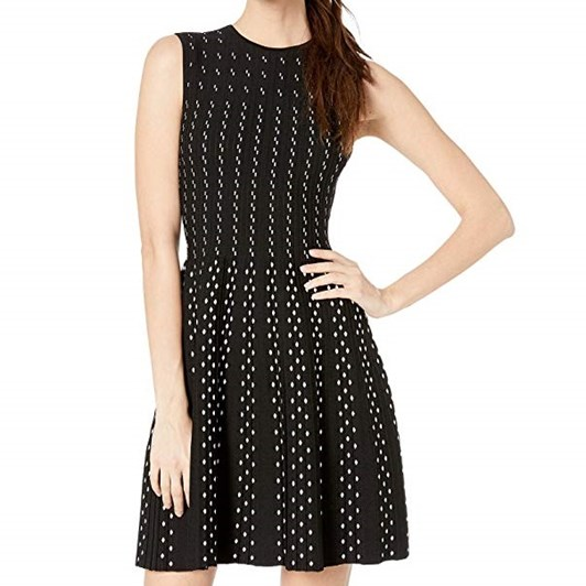 Ted Baker CAREN Contrast Stitch Knitted Dress