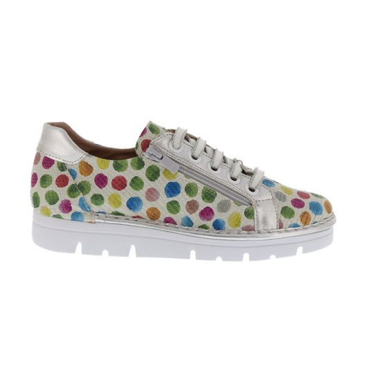 Neo Spot Detail Zip Side Sneaker