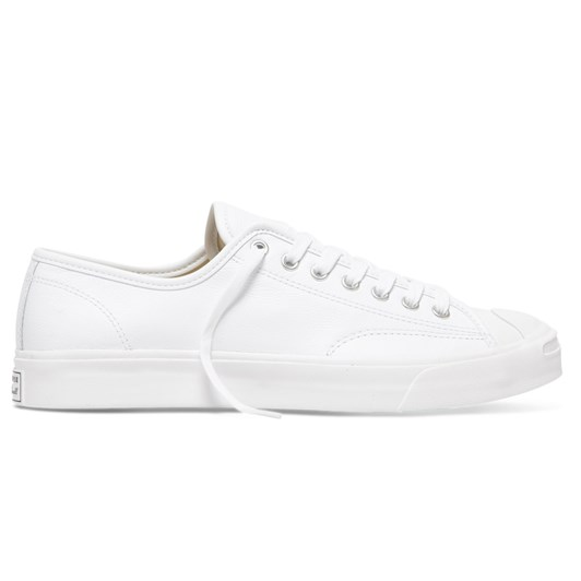 Converse Jack Purcell Foundational Leather Low Top White Mono