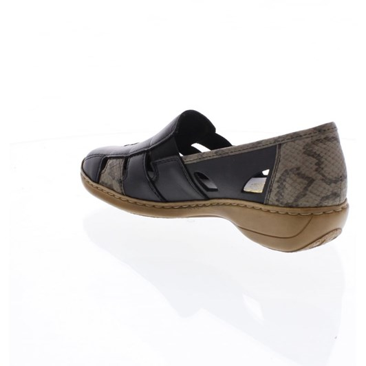 Rieker Loafer With Cut Outs