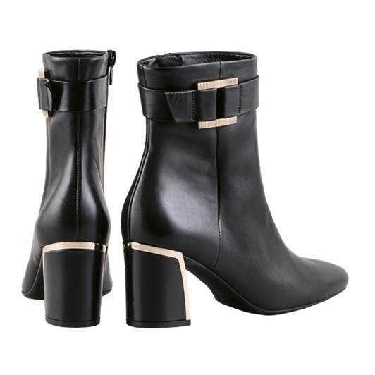 Hogl Deluxe Gold Detail Ankle Boot