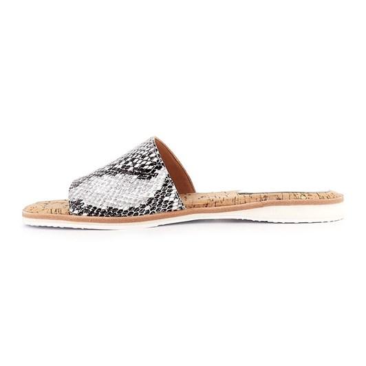 Rollie Sandal Slide Grey Snake