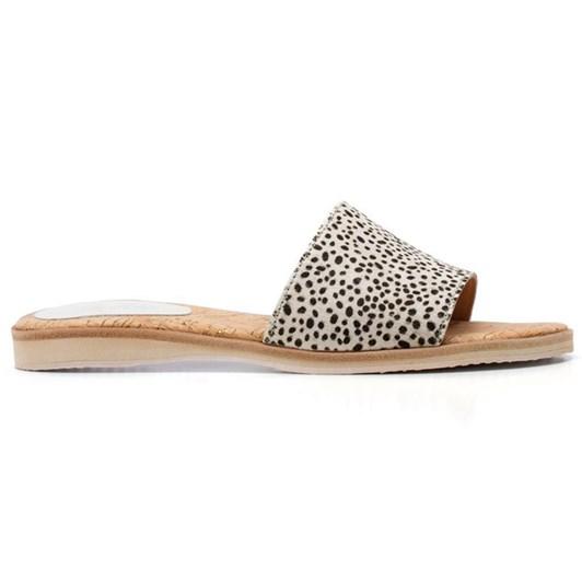 Rollie Sandal Slide Leopard