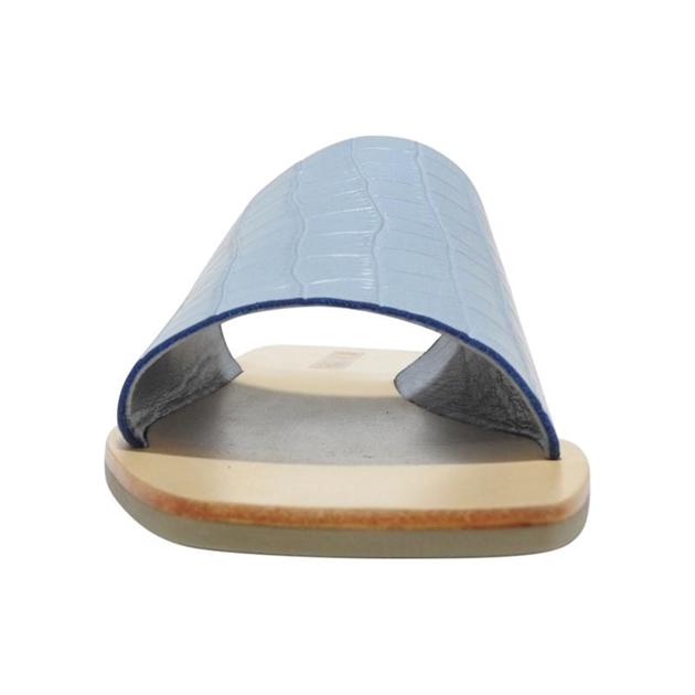 Sol Sana Mila Slide - blue croc