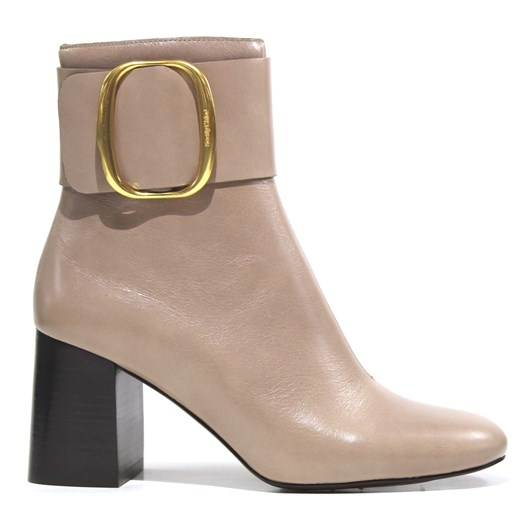 See By Chloe Abby Bowy Leather Ankle Boots