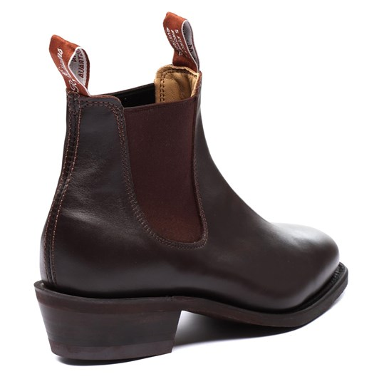 RM Williams Lady Yearling Rubber Sole Chestnut