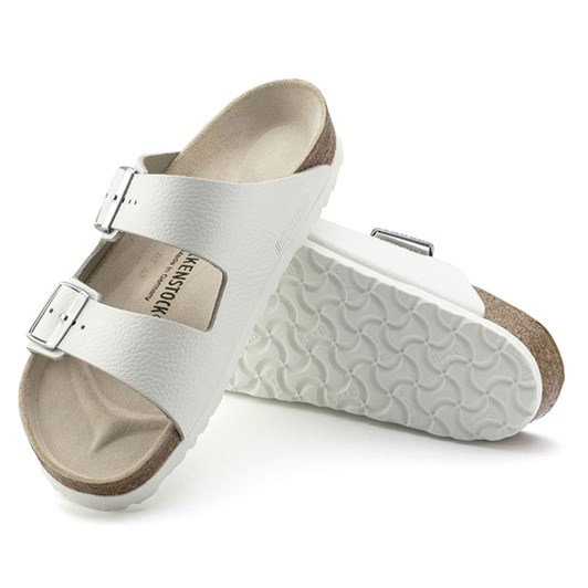 Birkenstock smooth leather white narrow