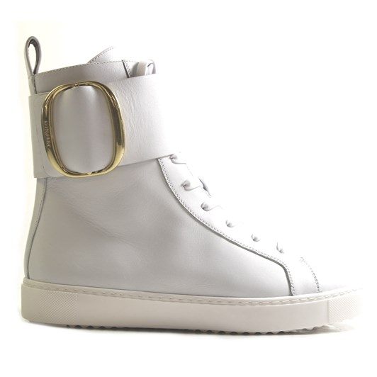 See By Chloé High-Top Leather Sneakers