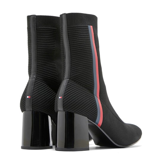 Tommy Hilfiger Knitted Heel Boot