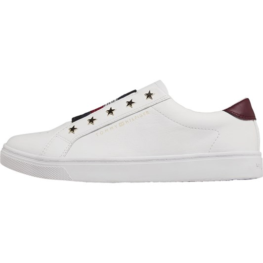 Tommy Hilfiger Star Detail Elasticated Slip-On Trainers