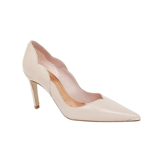 Ted Baker Maysiee Scalloped Back Mid Heel Court