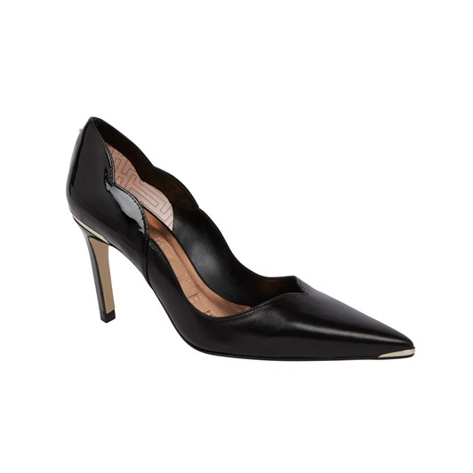 Ted Baker Maysiep Scalloped Back Mid Heel Court