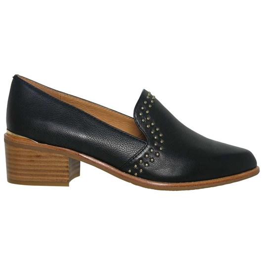Bresley Allure Studded Block Heel Loafer