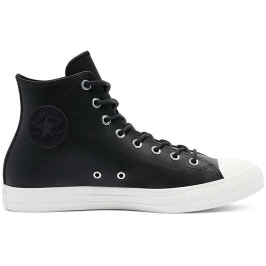 Converse  Ct Seasonal Leather Hi Blk