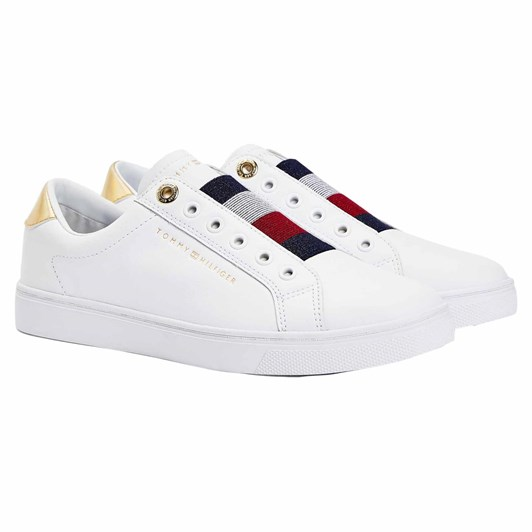 Tommy Jeans Th Elastic Slip Snk  White
