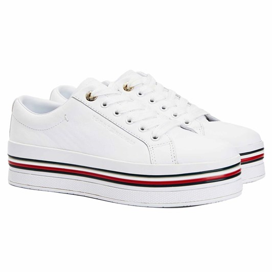 Tommy Jeans Corp Flatf Cups  White