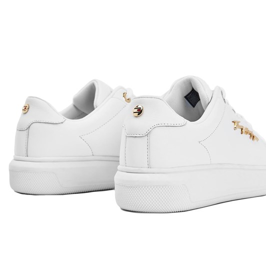 Tommy Jeans Metal Signature Logo Flatform Trainers