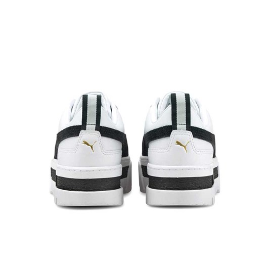 Puma Mayze Leather White/Black Sneakers