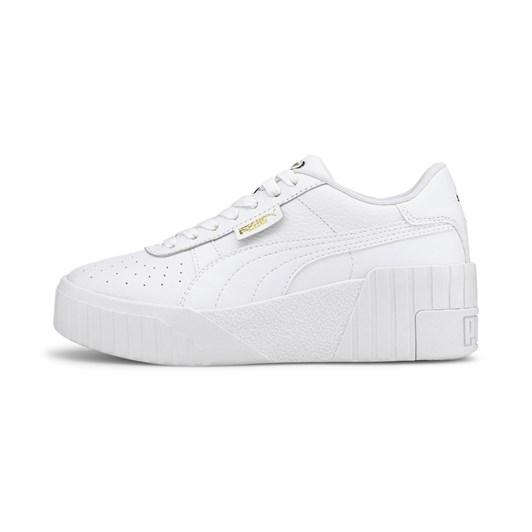 Puma Cali Wedge Wns Puma White-Puma White