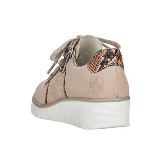 Rieker Zip Up Snake Sneaker