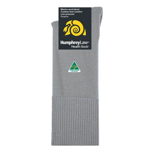 Humphrey Law Merino No Elastic Cushion Foot Health Socks