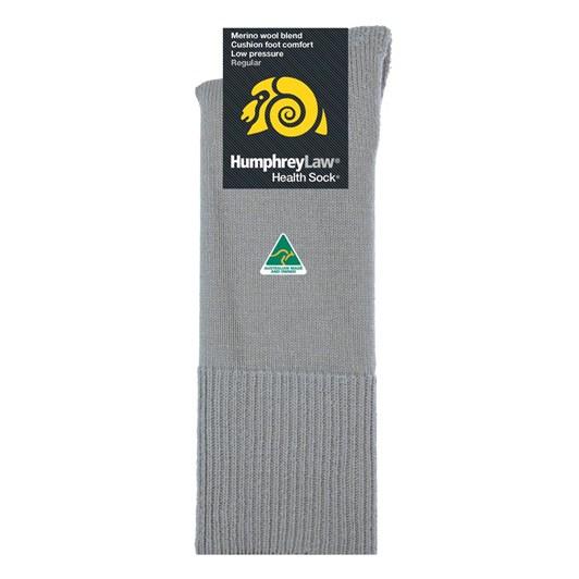 Humphrey Law Merino No Elastic Cushion Foot Health Socks