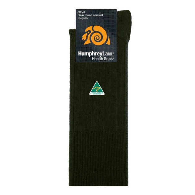 Humphrey Law Pure Wool No Tight Elastic Health Socks - 559 gabolive