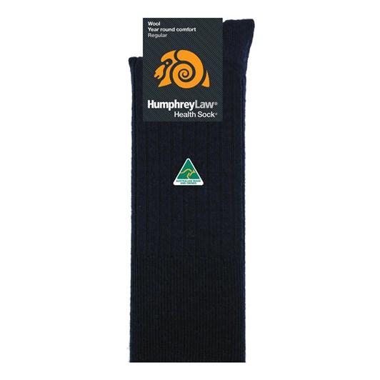 Humphrey Law Pure Wool No Tight Elastic Health Socks