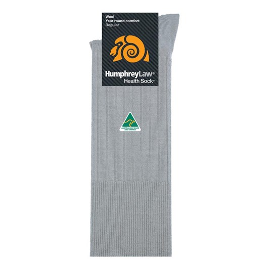 Humphrey Law Pure Wool No Tight Elastic Health Socks