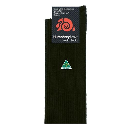 Humphrey Law Winter Merino No Tight Elastic Top Health Socks