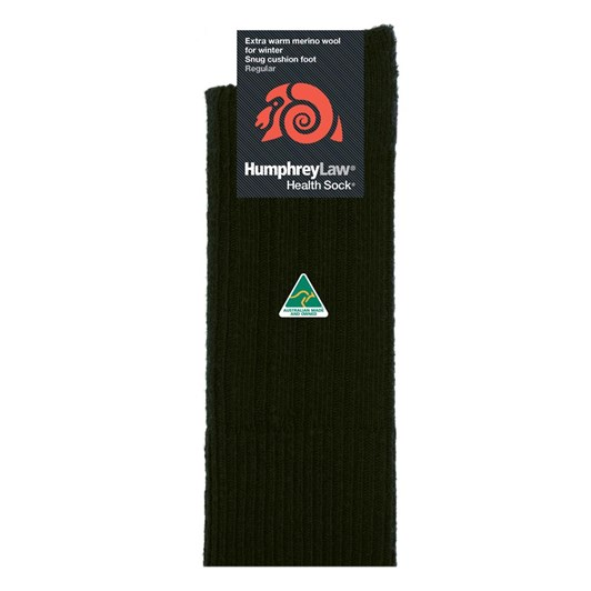 Humphrey Law Winter Merino No Tight Elastic Top Health Socks
