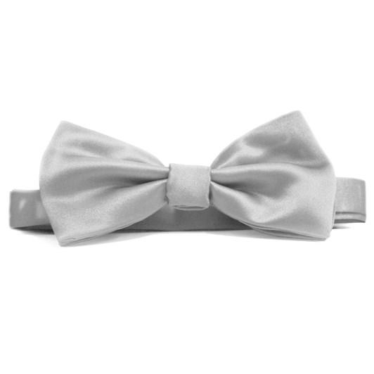 Fellini Italian Satin Dean Band Bow Tie