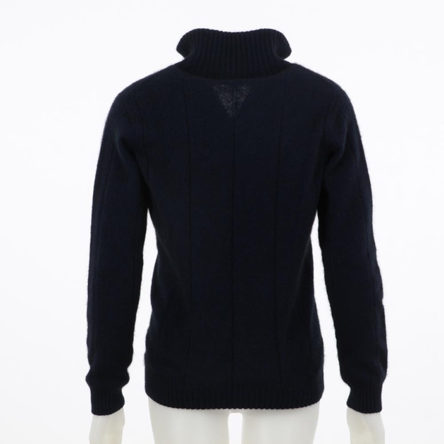 Noble Wilde Merino Possum Cambridge Crew Neck - 112 maritime