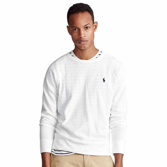 Polo Ralph Lauren Lscnm1-Long Sleeve-Knit-Spa Terry