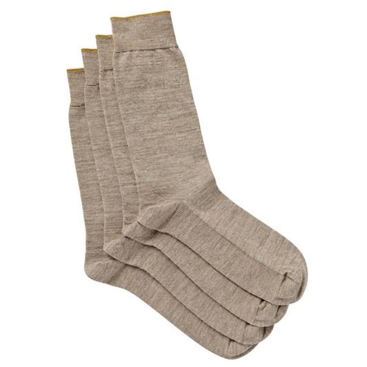 Jockey Gold Top Merino Wool Socks 2 Pack