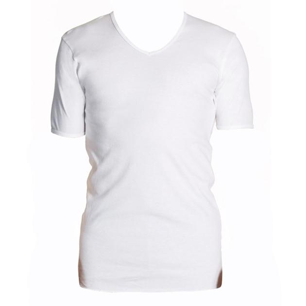Jockey V Neck T-Shirt - whi - white