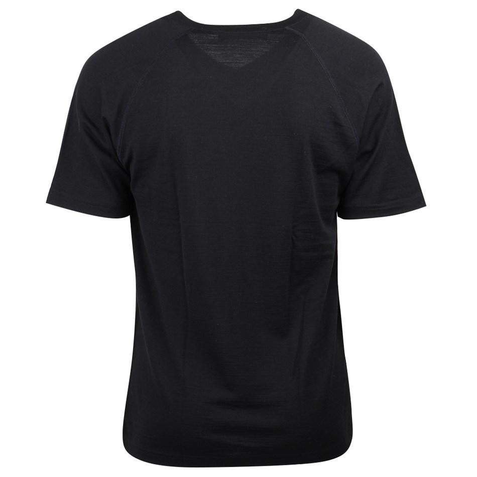 Supreme Mens V Neck Short Sleeve Vest - black