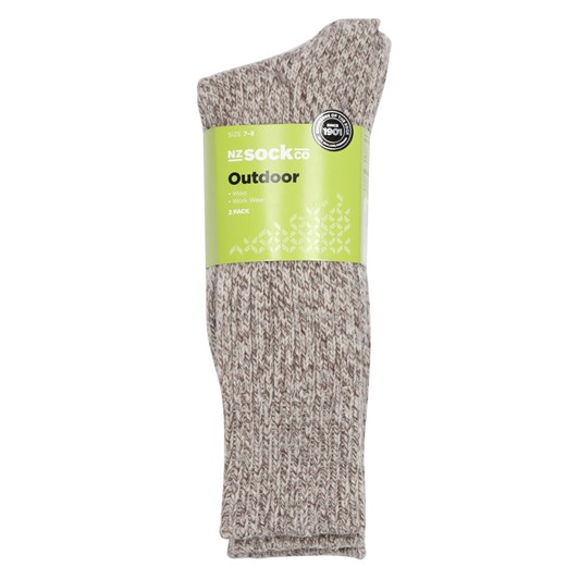 NZ Sock Co Alpine Fleck Socks 2 Pack