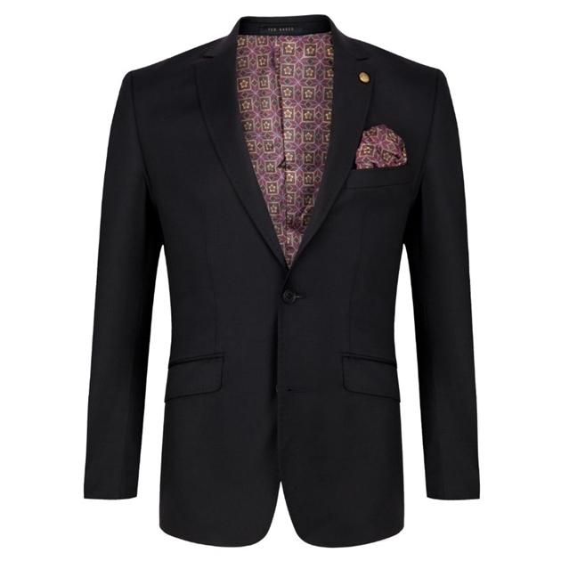 Ted Baker Soverign Wool Formal Jacket - 00 - black